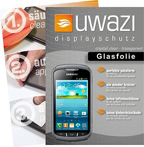 uwazi Samsung Galaxy Xcover 2 Semi Glasfolie - gehärtete Schutzfolie mit Spezialbeschichtung gegen Fingerabdrücke