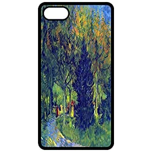 Allee In The Park By Van Gogh Painting By Vincent Van Gogh Black Apple Iphone 6 (4.7 Inch) Cell Phone Case - Cover