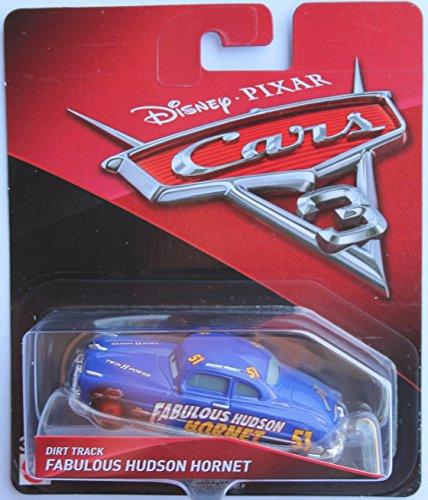 Disney Pixar Cars 3 Die-Cast Dirt Track Fabulous Hudson Hornet