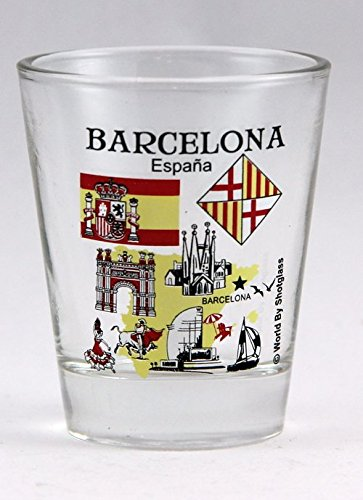 (Barcelona Spain Great Spanish Cities Collection Shot Glass)