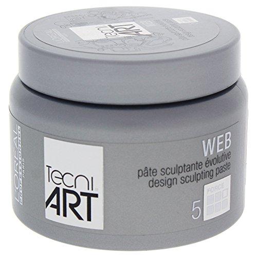 L'Oreal Professional Tecni Art force 5 Web Design Sculpting Paste, 5 Ounce
