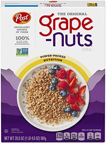 Breakfast Cereal: Grape Nuts