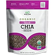 Eternae By Nature Organic Raw Chia Seeds, 32 Ounce