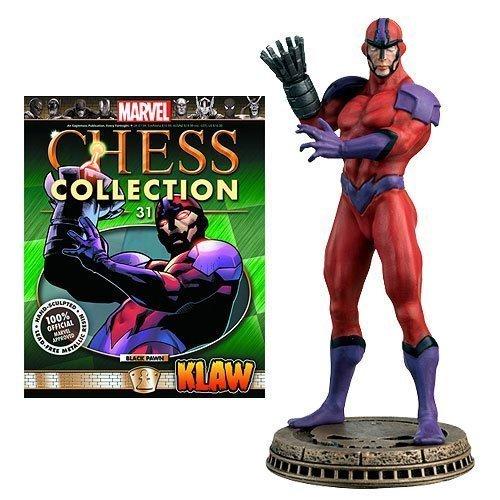 Marvel Chess Figurine Collection Magazine #31 Klaw - (Black Pawn) -  EAGLEMOSS PUBLICATIONS LTD, 3900230151856