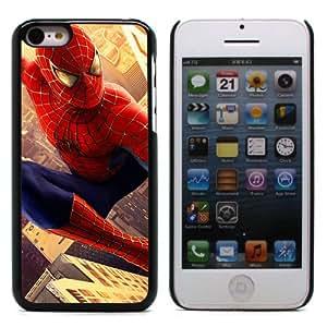 MOBILEONE Apple iPhone 5C Carcasa Trasera Rigida Aluminio Con 3x Protectores de Pantalla y Lapiz Boligrafo - SPIDERMAN