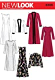 New Look Sewing Pattern 6305 - Misses Dresses Sizes: A (10 12 14 16 18 20 22) by New Look