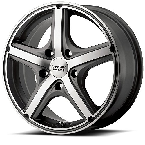 American Racing Maverick AR8834 Anthracite Finish Wheel with Machined Face - Anthracite Finish