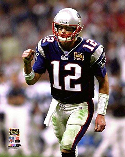 75512bae463 Amazon.com: Tom Brady England Patriots Super Bowl XXXVIII Action ...