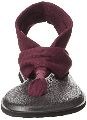 Sling 2 Yoga Burgundy Tongs Bur Sanuk Femme wq4PC
