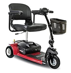Go Go Ultra X 3-Wheel Travel Scooter Color: Red
