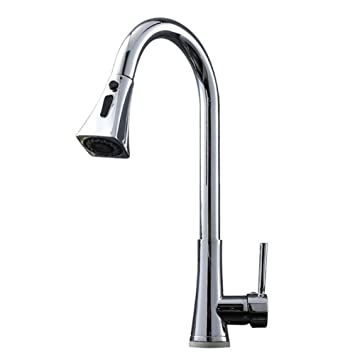 Amazon.com: Kitchen Sink Taps Smart Touch Sensing ON Off ...