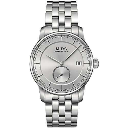 Mido M86084101 Watch M8608.4.10.1 Baroncelli II Mens - Silve
