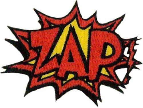 Klicnow Zap. Bordado Parche 7 cm x 5 cm (2 3/4