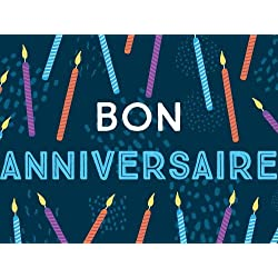 Bougies d'Anniversaire egift card link image
