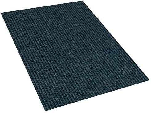 9 x12 Indigo Blue Indoor Outdoor Area Rug Carpet, Runners Stair Treads with a Rubber Backing 1 4 Thick MANY SIZES and Shapes. Rectangles, Squares, Circles, Half Rounds, Ovals, and Runners.
