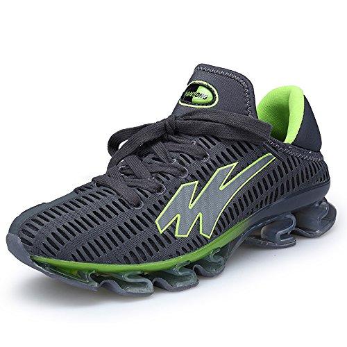 若者ゴネリル運賃Yaerランニング シューズ メンズ 通気 軽量 ジョギング 通気 マラソン スポーツ 部活 スニーカー 2way 通学 カジュアル かかとが踏める 運動靴 スポーツ靴