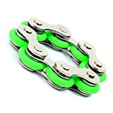 Roller Chain Fidget Toy(Green) – Used For ADHD, ADD, Autism,and Anxiety