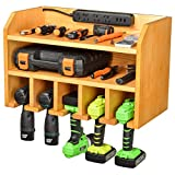Best Garage Organizers - Drill Charging Station | Drill Storage | Wall Review