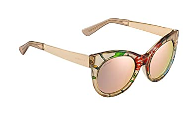 e0c2cd5f13e41 Amazon.com: Gucci Sunglasses - 3740 / Frame: Beige Floral Gold Lens ...