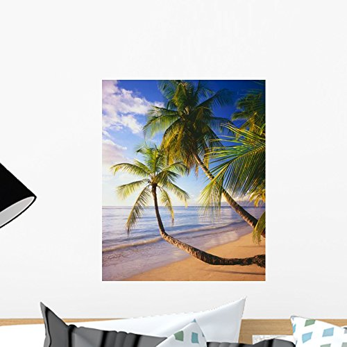Pigeon Point Beach Island Wall Mural by Wallmonkeys Peel and Stick Graphic (18 in H x 15 in W) WM200130