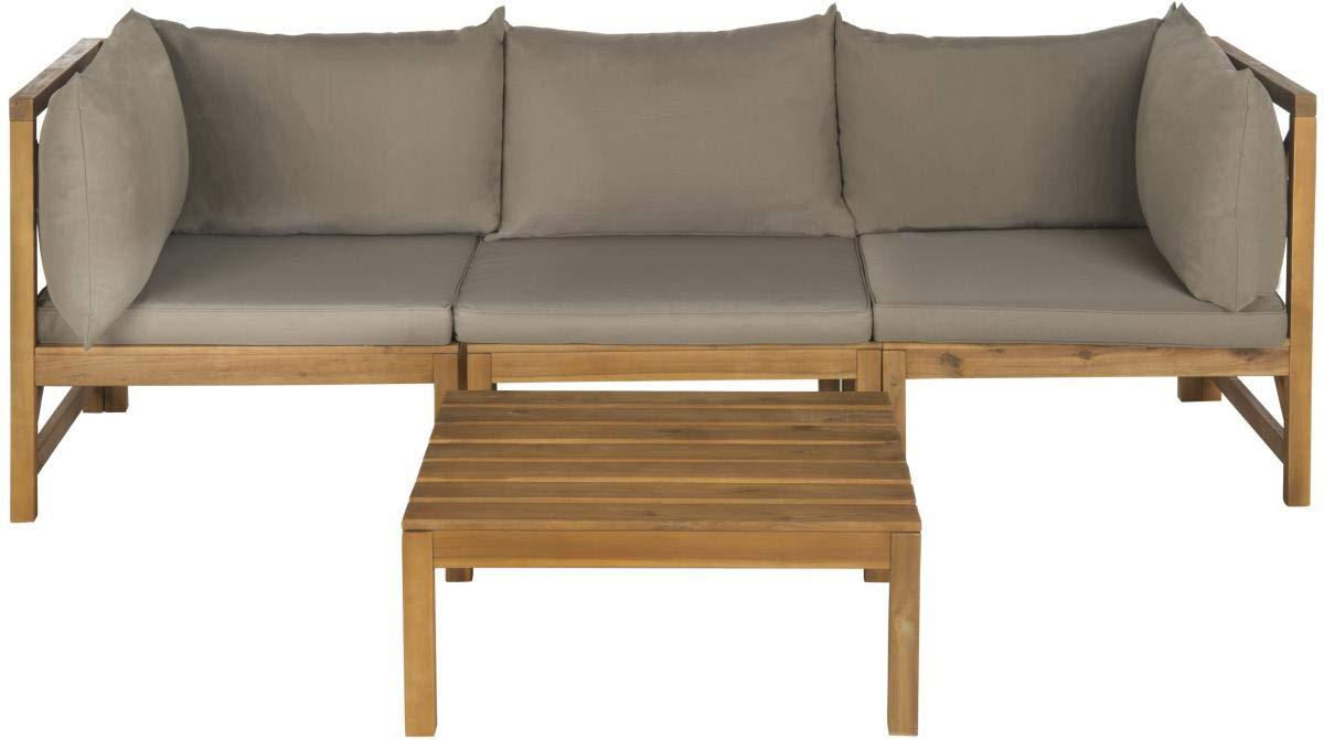 Amazon.com: Safavieh Outdoor Collection Lynwood - Sofá ...
