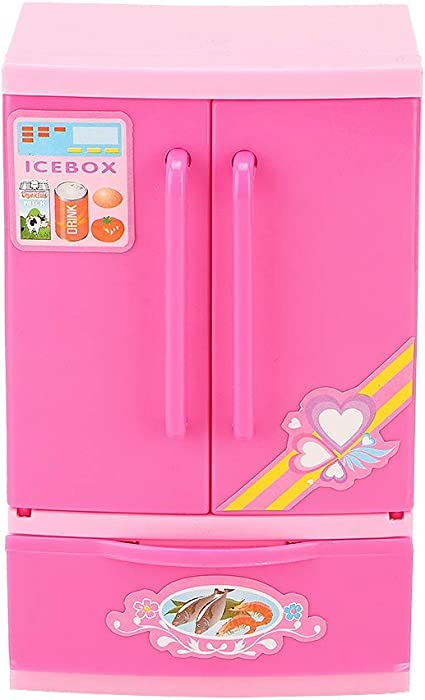Battery Operated Mini Electric Water Dispenser Toy Girl/'s Play House Kitchen Toy