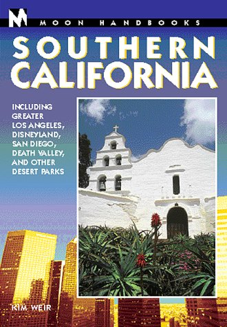 DEL-Moon Handbooks Southern California: Including Greater Lost Angeles, Disneyland, San Diego, Death Valley, and Other Desert - Shop California Disneyland Gift