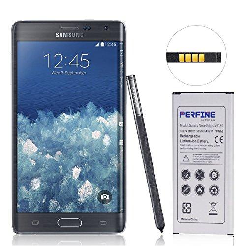 Perfine Samsung Galaxy Note Edge Battery, 3050mAh N9150 Battery Replacement for N9150,N915K,N915L,N915S,N915U LTE,N915A,N915T,N915V,N915P[NFC/Google wallet]