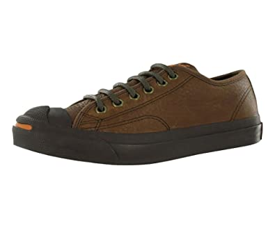 646b404cd0e0 Converse Men S Jack Purcell Otr Leather Ox Casual Shoe Brown (6 ...