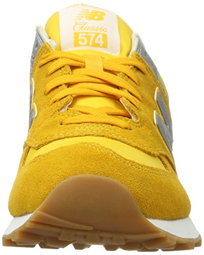New Balance Hommes Ml574 Canada Only Pack Sneaker Jaune / Gris