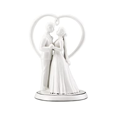 Mikasa Love Story Porcelain Cake Topper with Gift Box