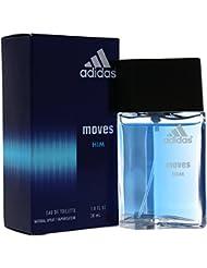 Adidas Moves For Men Eau De Toilette Spray 1 Ounce