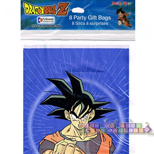 Dragonball Z Favor Bags 8ct