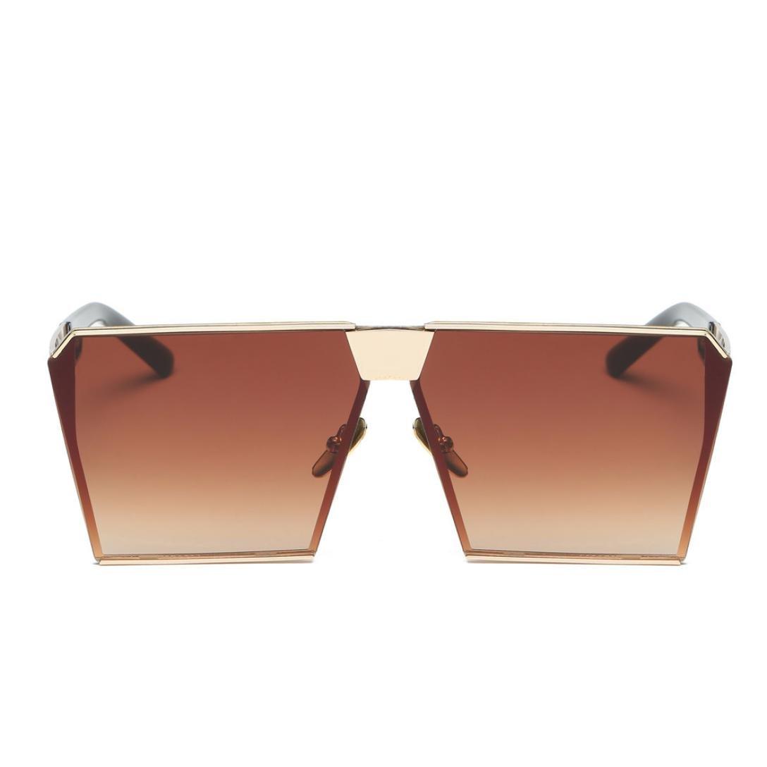 OverDose Unisex Sommer Frauen Männer Moderne Modische Spiegel Polarisierte Katzenauge Sonnenbrille Brille Damensonnenbrille Herrensonnenbrille