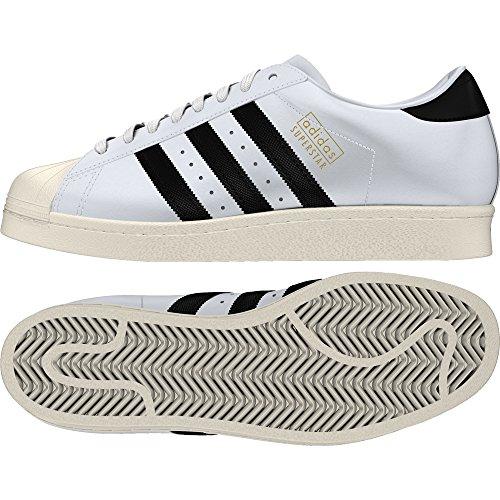 Adidas Superstar og–Chaussures Sportives, homme, noir (Ftwbla/negbas/casbla)