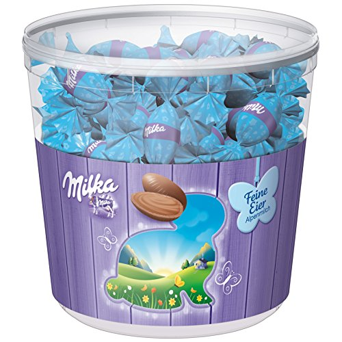 Milka Fine Eggs Alpine Milk 100 Pieces (900g)