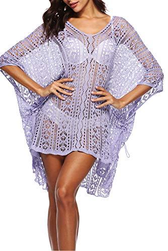 Summer 15 Up Dress Crochet Colore Donna Tassel Pareo Sarong Knit Bikini Swimsuit Beach Cover rqfgwUWr