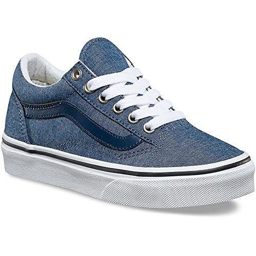 Varebiler Barn Old Skool (c & P) Skatesko Chambray / Blå
