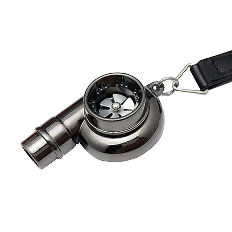 Creative silbato Turbo Llavero Keyholder, Gun Black