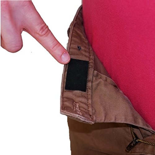 Waist Grippers Shirt Stays- Keeps Shirts Tucked In and Skirts from Sliding Around! Made in the USA! (Pack of 12 (up to 3 pants/skirts))