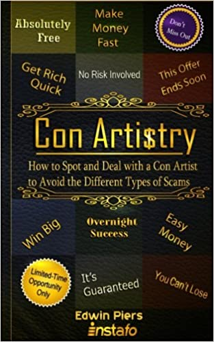 Amazon com: Con Artistry: How to Spot and Deal with a Con