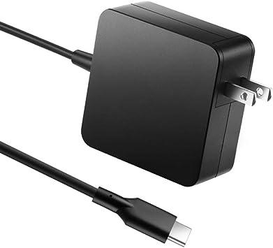 Amazon.com: Cargador USB C, 65 W tipo C, adaptador de ...