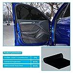 HOHO 4Mil Nano Ceramic Solar Tint UV Proof Car Window Solar Film Glass Privacy Tint