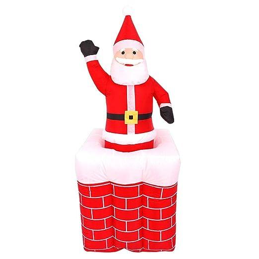 Matefielduk Disfraces Adultos Inflable,Hinchable Navidad Papá Noel ...