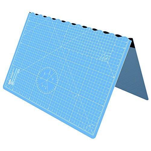 Cutting Mat, Self Healing Cutting Mat, Hobby Cutting Mat, Sewing Cutting Mat, Foldable Cutting Mat Imperial 34 inch x 22.5 inch A1 - Sky Blue by ANSIO