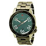 Nixon Men's 'Ranger' Quartz Stainless Steel Watch, Color:Grey (Model: A5062340-00)