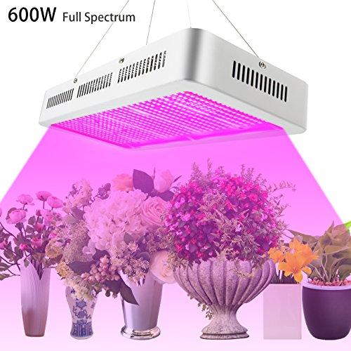 Derlight 600W Full Spectrum High Power Led grow...