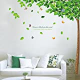 Wall Stickers For Bedroom, Vinyl Art Wall Sticker Decal Tree Butterfly Quote Mural Removable Home Decor, Wall Sticker in Bedroom