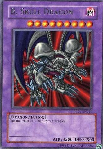 Yu-Gi-Oh! - B. Skull Dragon (DLG1-EN029) - Dark Legends - Unlimited Edition - Rare