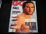 GQ Magazine (PATRICK RAFTER , Fall preview , Steve Forbes , Boot Camps , Gary Cartwright , Halle Berry, July 1999)